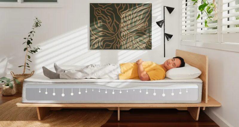 koala mattress zones