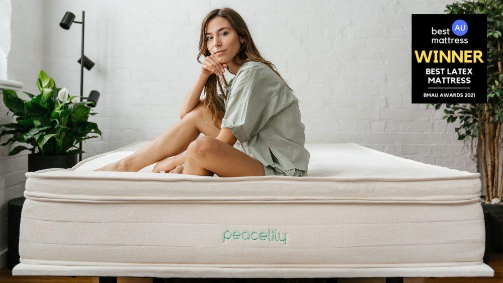 peacelily mattress latex award 2021